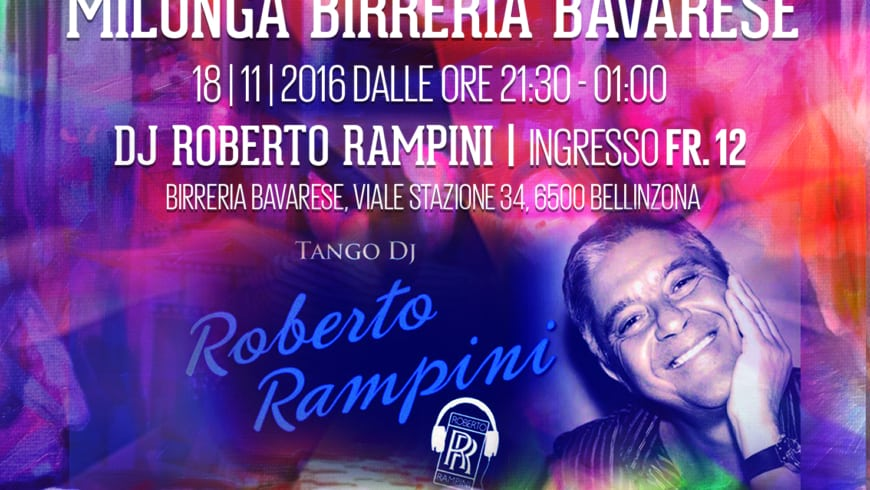 Milonga Birreria Bavarese, DJ Rampini