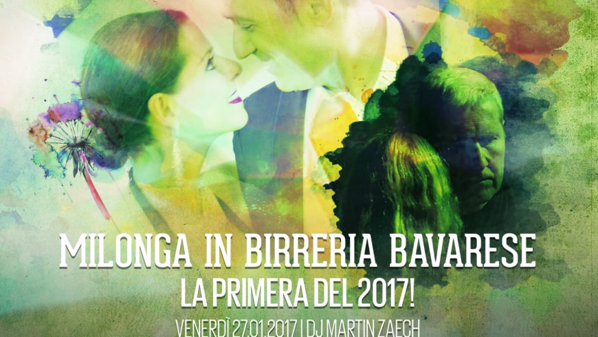 Milonga in Birreria Bavarese, DJ Martin