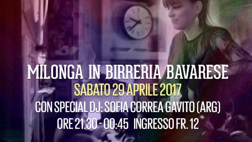 DJ Sofia GAVITO, in Birreria Bavarese