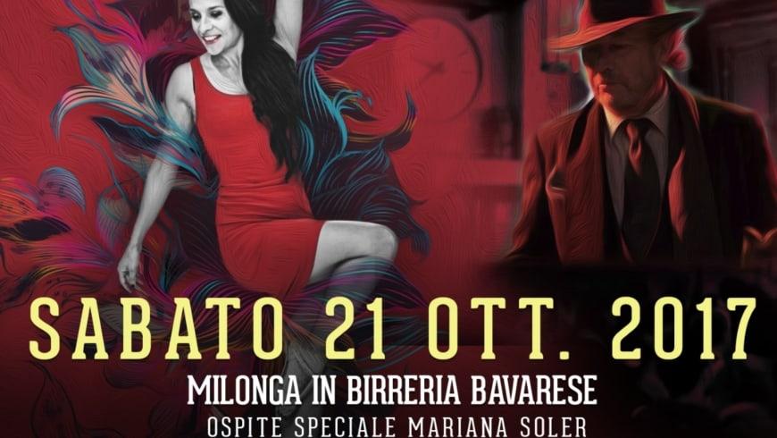 Milonga in Birreria Bavarese con special guest Mariana Soler, DJ Francesco el Actor