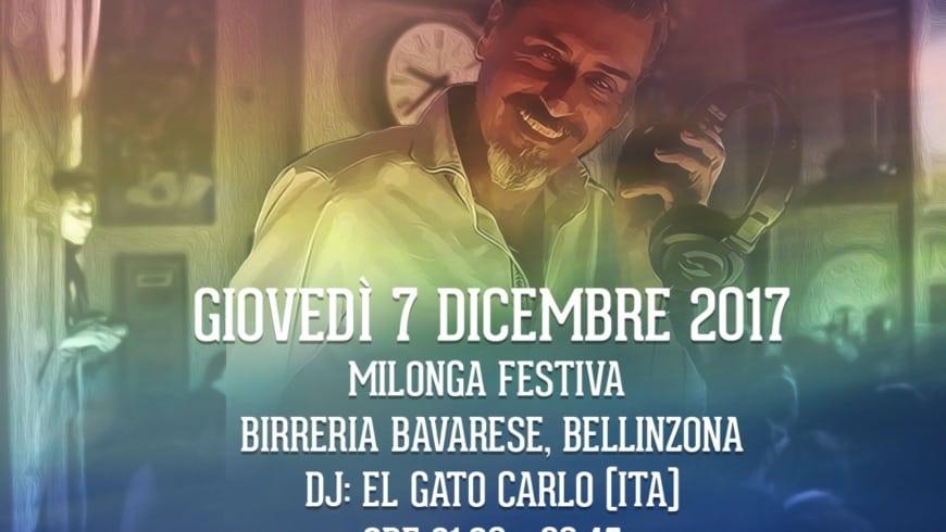 Milonga in Birreria Bavarese, DJ El Gato
