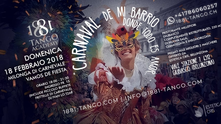 Carnaval de mi Barrio, Milonga in maschera DJ I. Lo Tzar