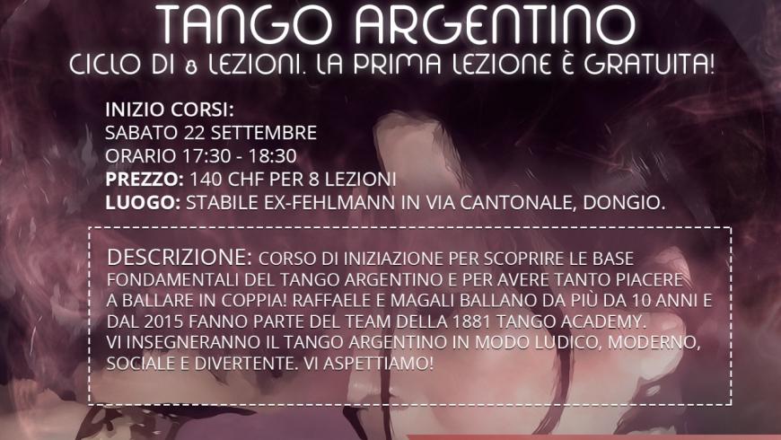 Tango Principianti, DONGIO, Con Raffaele e Magalì