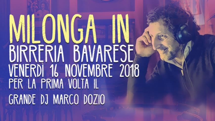Milonga in Birreria Bavarese, DJ Marco Dozio