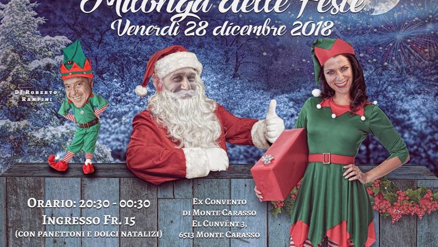 Milonga delle Feste, Sala Ex Convento, Monte Carasso, DJ R. Rampini